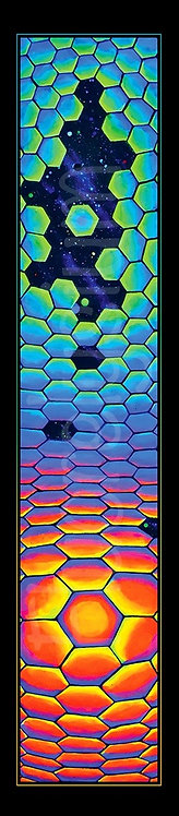 "Banner ""Honeycomb"""