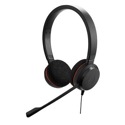 Jabra Evolve 20 MS stereo - Auricular - en oreja