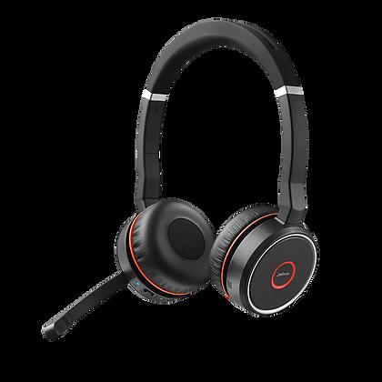Jabra Evolve 75 MS Stereo - Auricular - en oreja