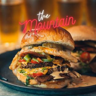 The Mountain burger