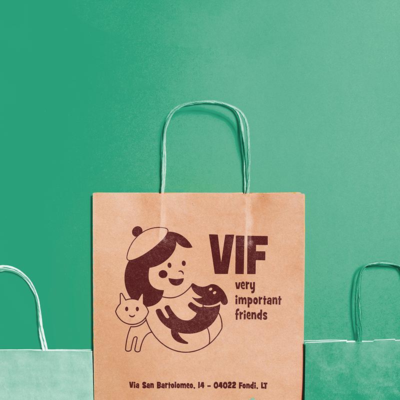 VIF - shopper carta
