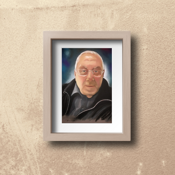Il papà Giuseppe