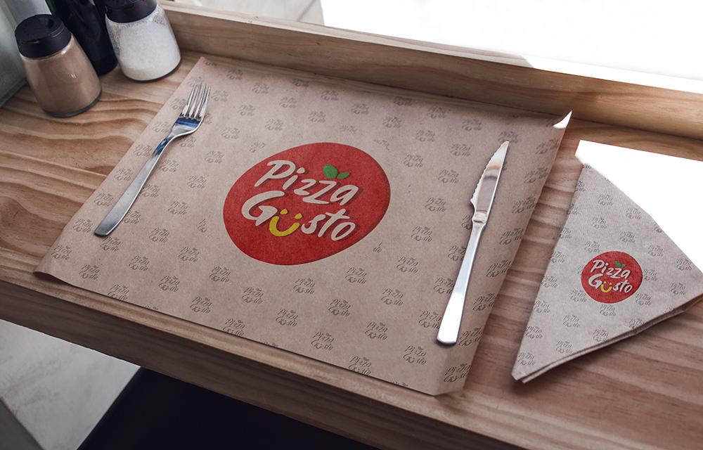 Pizzagusto - Tovaglietta risto