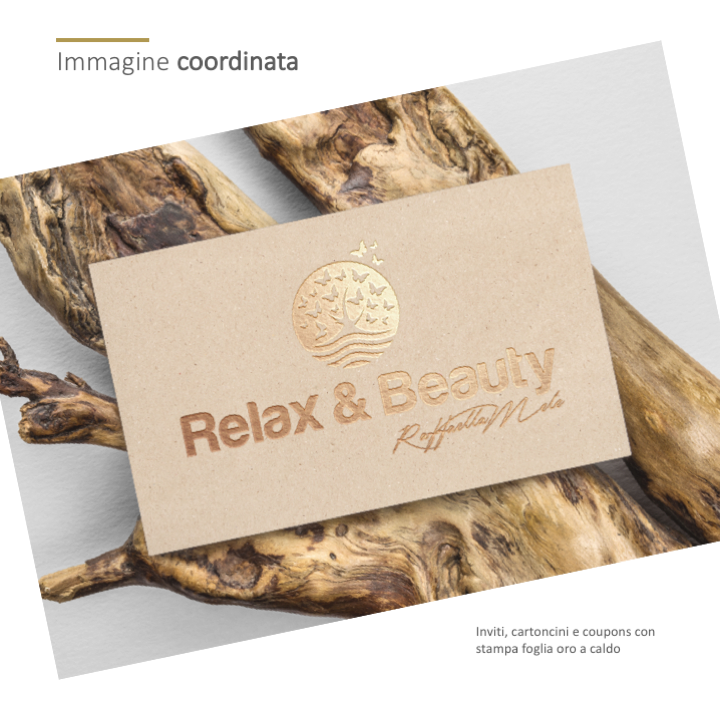 Relax & Beauty - Cartoncino cortesia