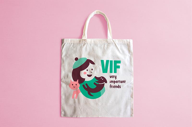 VIF - shopper tela