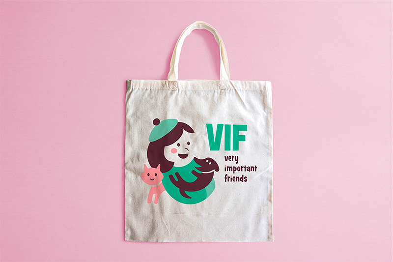 VIF - shopper tela