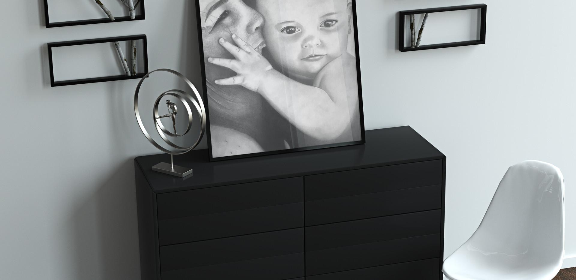 Mamma con bimbo