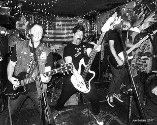 """""""Blistering old school punk rock outfit The Tracys are as clear an 80's punk revival as it gets"""""""