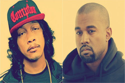 Dj Quik and Kanye West