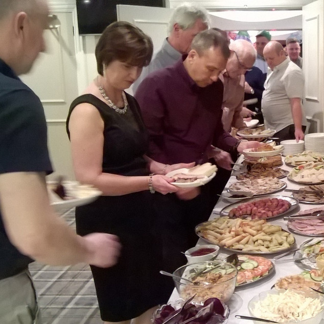 Catering at Blackpool CC