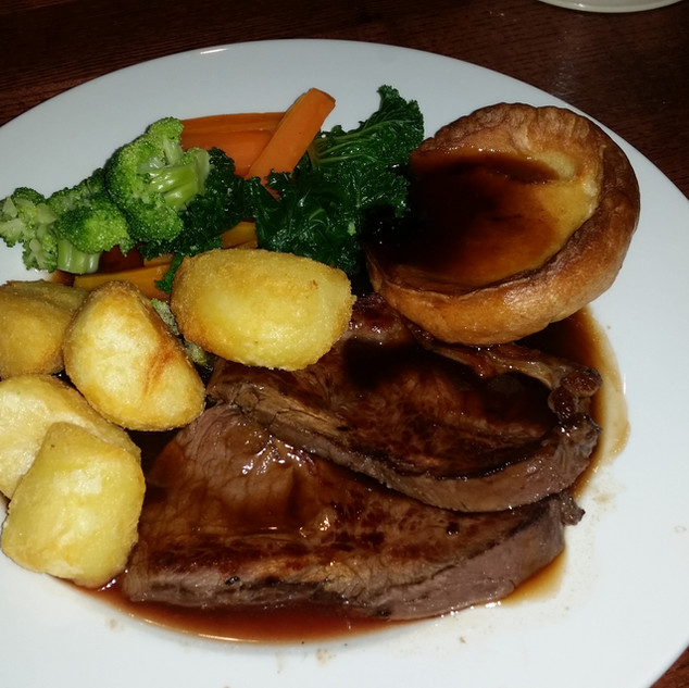 Sunday Lunch at Blackpool CC