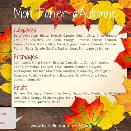 En automne, on mange quoi?