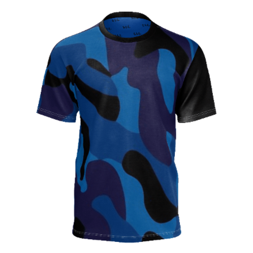 RXR Raw Blue Camo Shirt