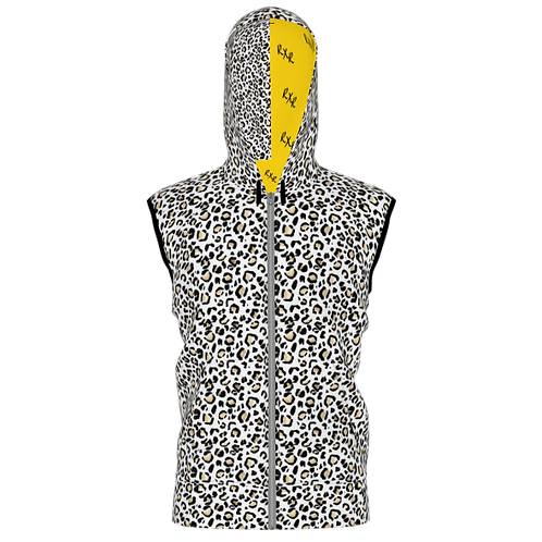 RXR Women's Cheetah Sleeveless Jacket