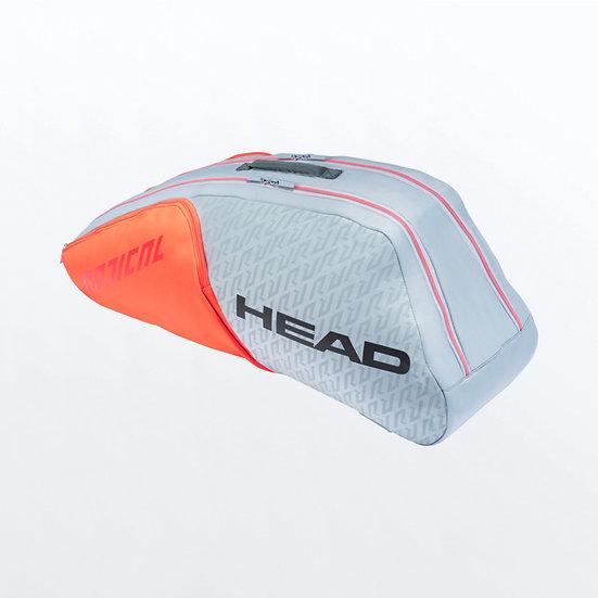 Head Rebel 6R Combi (Orange/Grey)