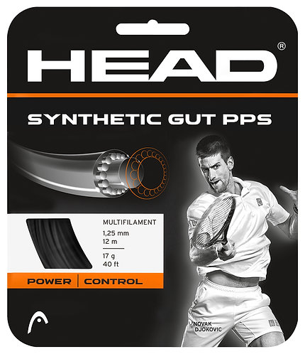 Head Synthetic Gut PPS (Black)