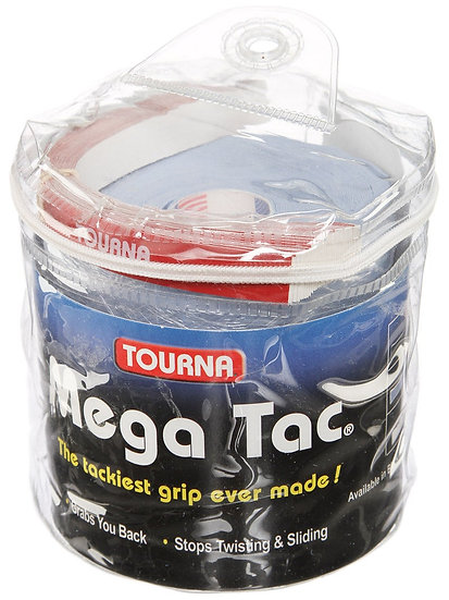 Tourna Mega Tac Overgrip 30-Pack Blue