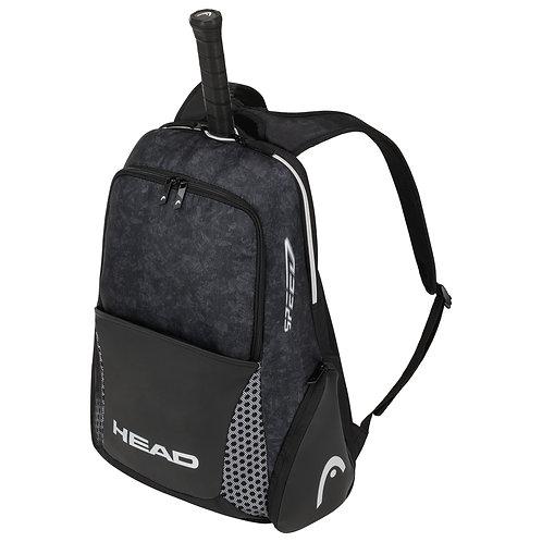 Head Djokovic Backpack Bag (Black/White)