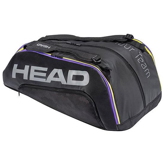 Head Tour Team 12R Monstercombi Bag (Black/Purple)