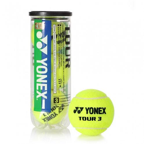 Yonex Tour Tennis Balls (3-Balls/Can)