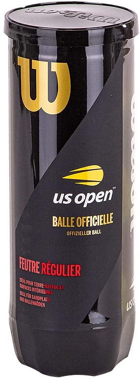 Wilson US Open Regular Duty Tennis Balls (3-Balls/Can)