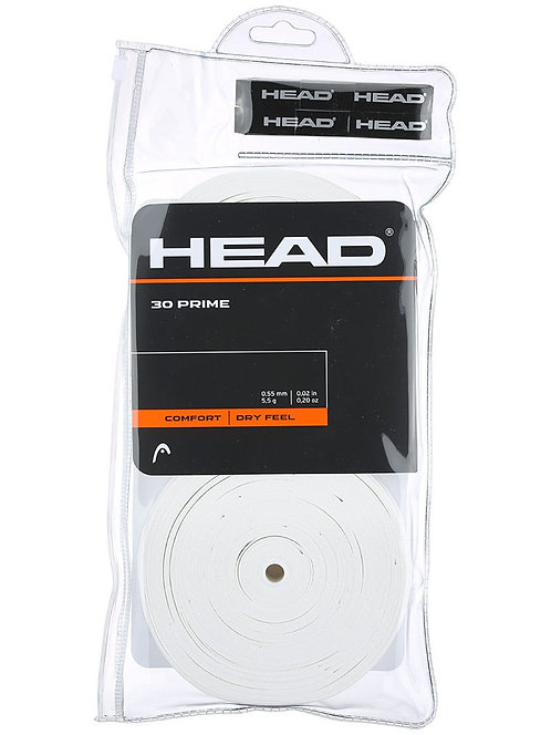 Head Prime Overgrips (30-Pack)