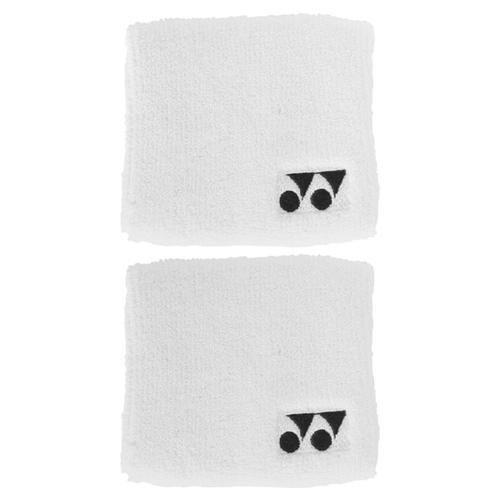 """Yonex 3"""" Wristband Pair - White"""