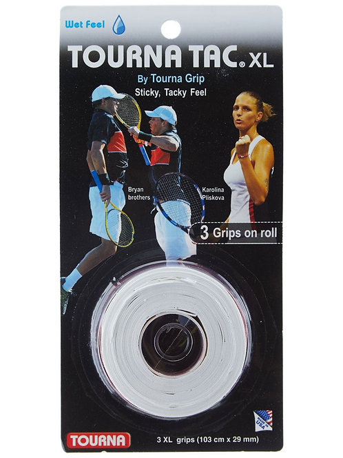 Tourna Grip Tourna Tac XL Overgrip White