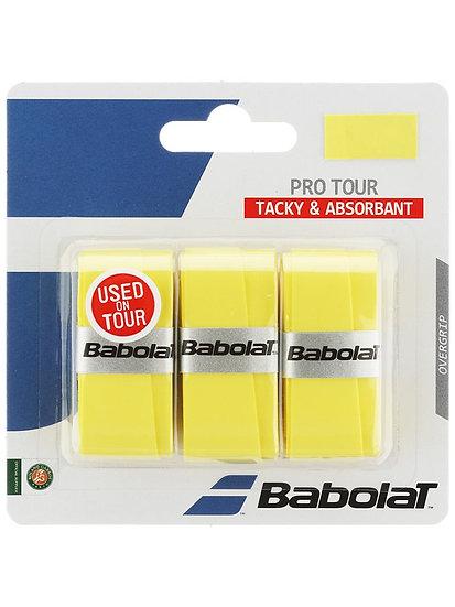 Babolat Pro Tour Overgrip (Yellow)