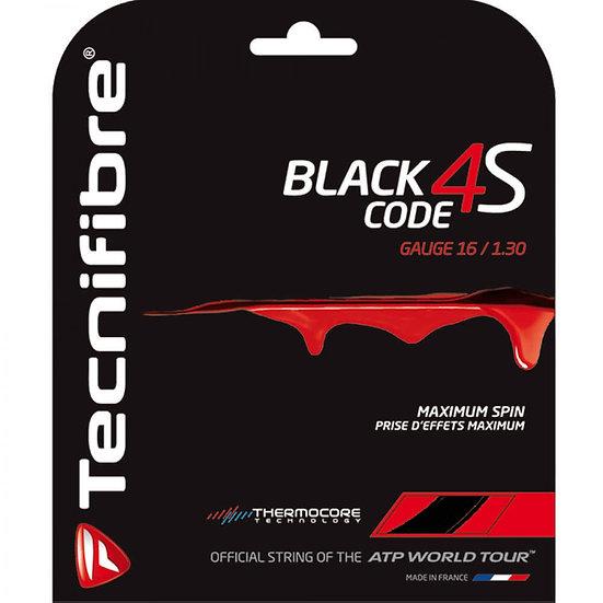 Tecnifibre Black Code 4S 16, 17, 18