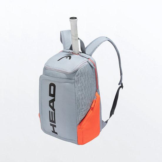 Head Rebel Backpack (Orange/Grey)