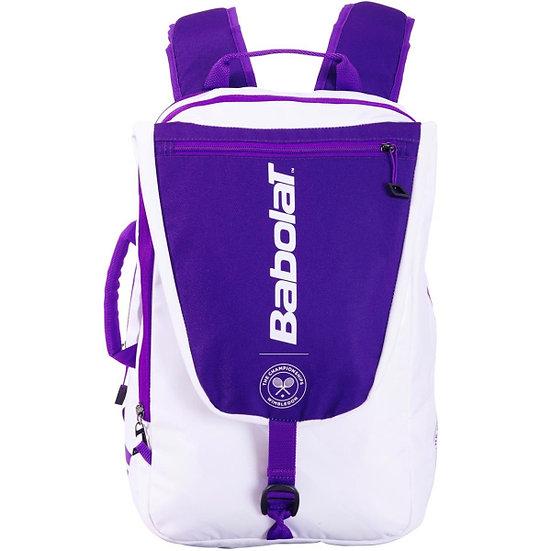 Babolat Pure Wimbledon Backpack (White/Purple)