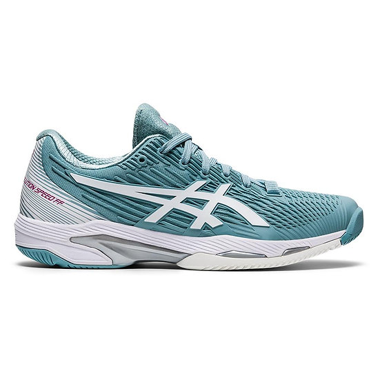 Womens Asics Solution Speed FF 2 Clay (Smoke Blue)