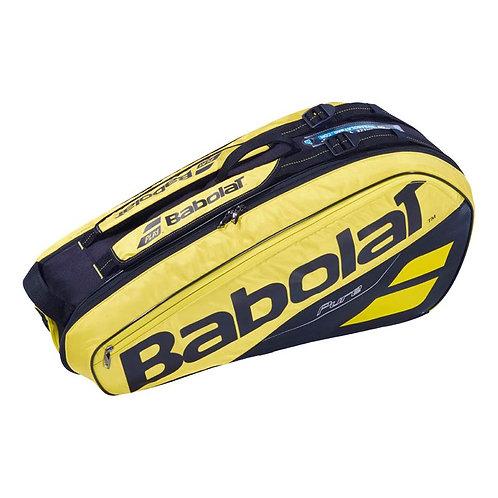 Babolat Pure Aero 6 Pack Bag (Yellow/Black)