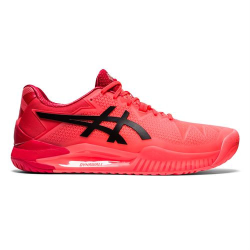 Women's Asics Gel-Resolution 8 (Sunrise Red/Black)