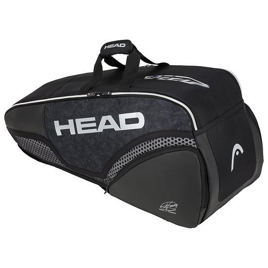 Head Djokovic 6R Combi (Black/White)