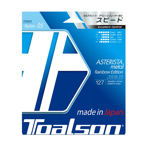 Toalson Asterista Metal 127 Rainbow String