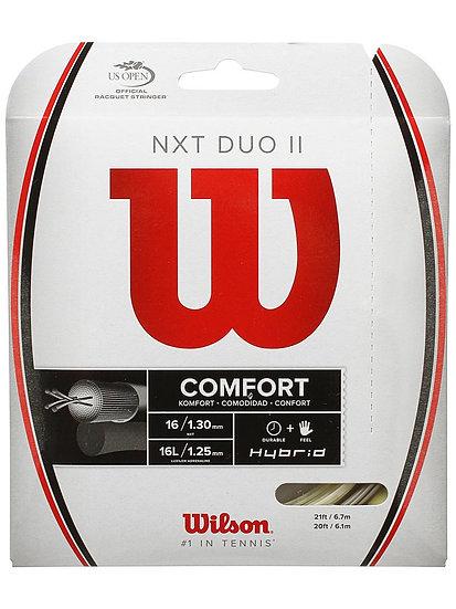 Wilson NXT Duo II Hybrid 16g (Platinum/Natural)