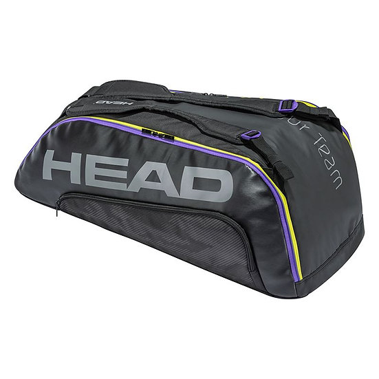 Head Tour Team 9R Supercombi Bag (Black/Purple)