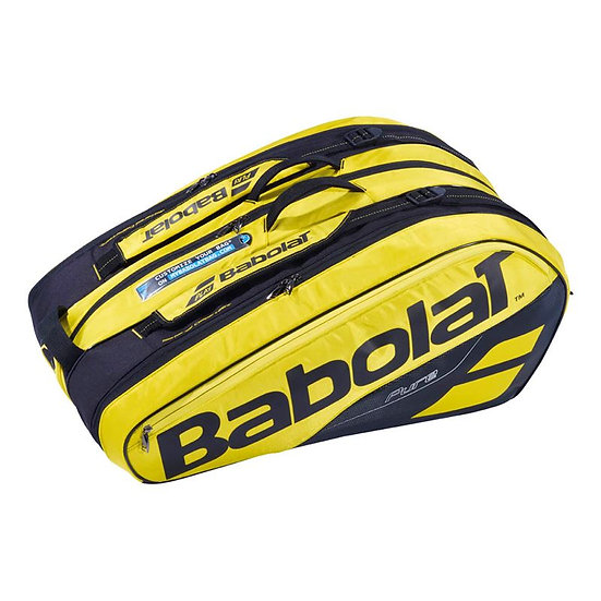 Babolat Pure Aero 12 Pack Bag (Yellow/Black)