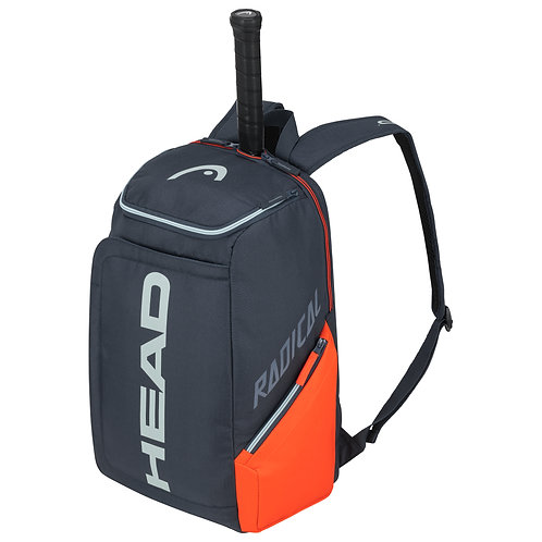 Head Radical Backpack Bag (Orange/Blue Grey)
