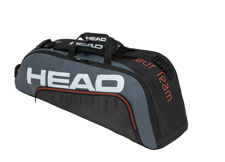 Head Tour Team 6R Combi Bag (Black/Grey)