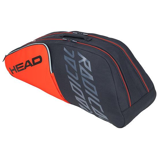 Head Radical 6R Combi Bag (Orange/Blue Grey)