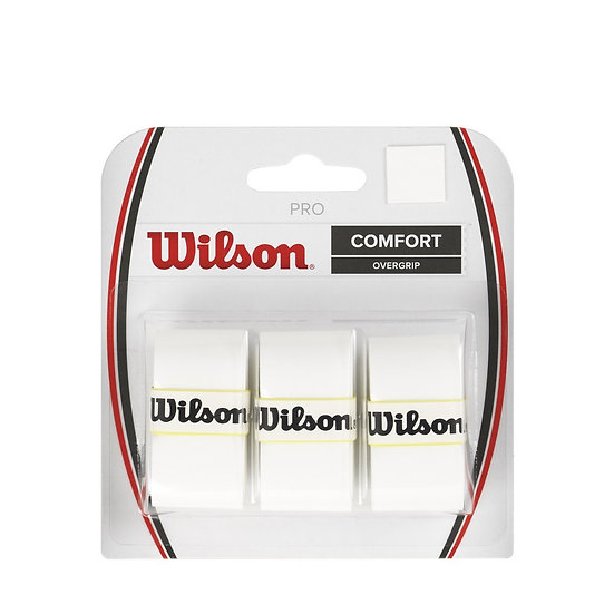Wilson Pro Overgrip White (3-Pack)