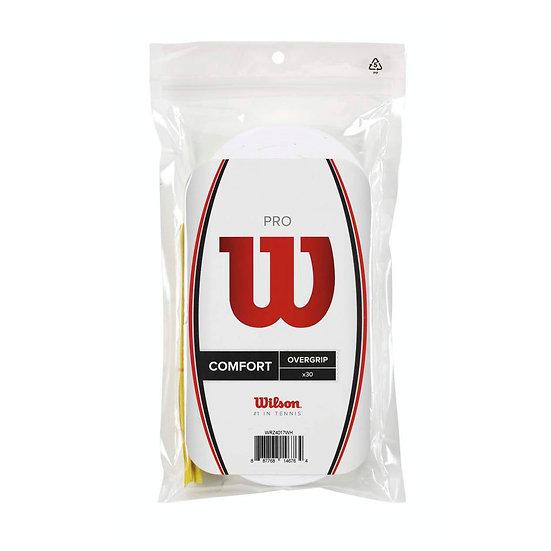 Wilson Pro Overgrip White (30-Pack)