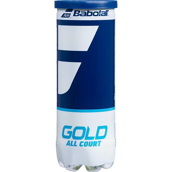 Babolat Gold All-Court Tennis Balls (3-Balls/Can)