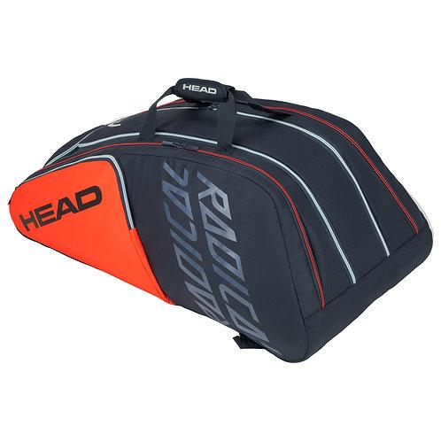 Head Radical 12R Monstercombi Bag (Orange/Blue Grey)