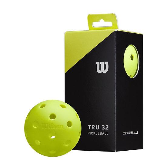 Wilson TRU 32 Pickleball (3-Pack)