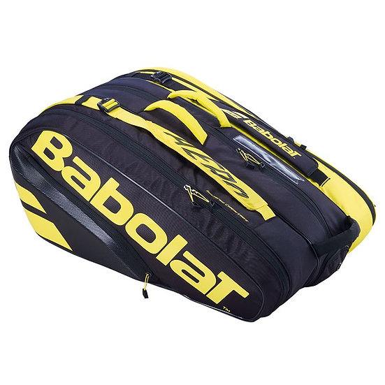 Babolat Pure Aero 2021 12 Pack Bag (Black/Yellow)