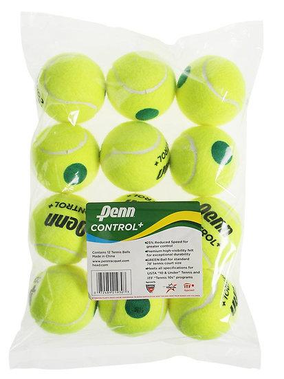 Penn Control+ Green Dot Balls (12-Pack)